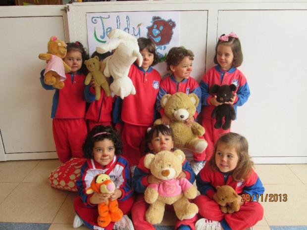 (Español) Excursión Teddy Bear  2 y 3 años.