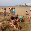 2º de Primaria. Día de convivencia en la playa.