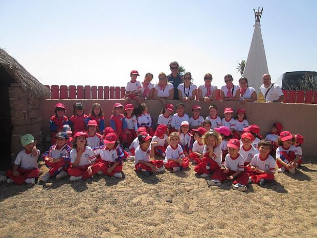 (Español) Excursión a Lanzarote a caballo. 2º Ciclo de Infantil.