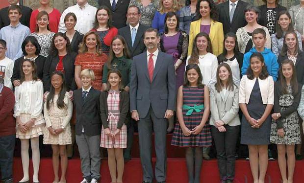Audiencia con Felipe VI