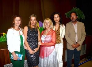 En la representación Teatral : Sueño de una noche de verano. 2012